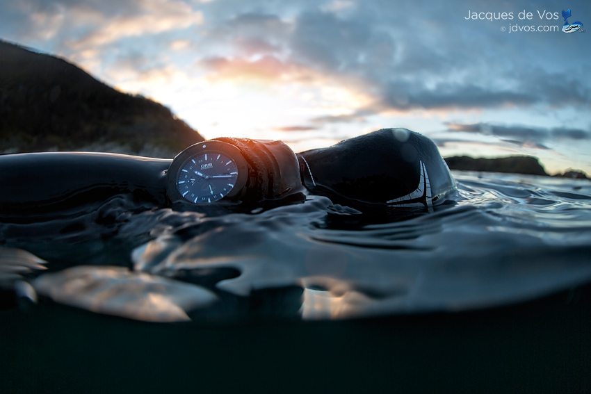 The North Sea Proved To Be An Ideal Location To Put The Oris Force Recon GMT To Work