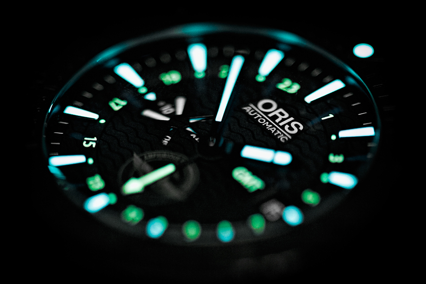 Oris Force Recon GMT On The Dark Side...The Lume Is Strong With This One...