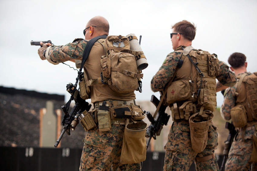 Force Recon Marines Maintaining Marksmanship - Creative Commons Image