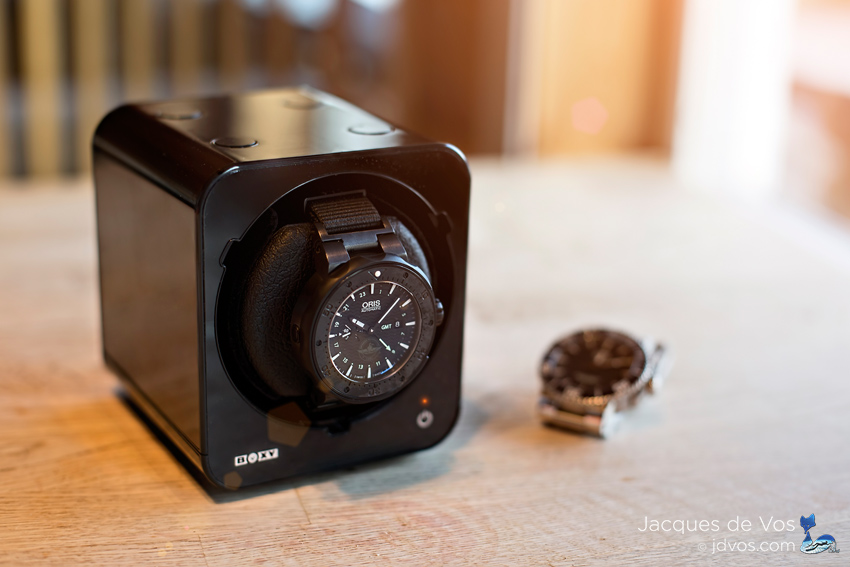 When wearing more than one automatic watch on a regular bases, a watch winder comes in handy...