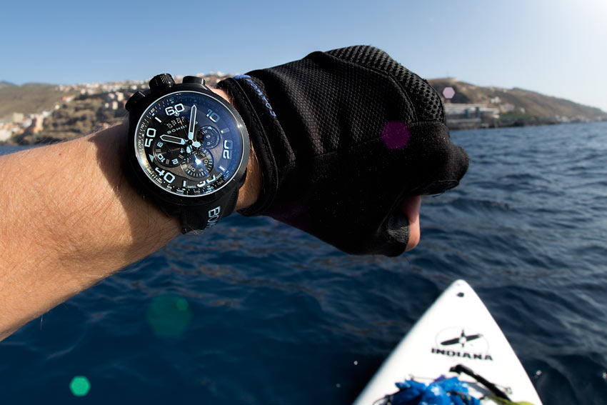 Out On The Atlantic With The Bolt 68 Neon Ice Blue